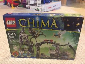 LEGO CHIMA Spinlyns Cavern (Box not opened)