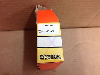 DIVERSIFIED ELECTRONICS IT-120-24 TRANSFORMER