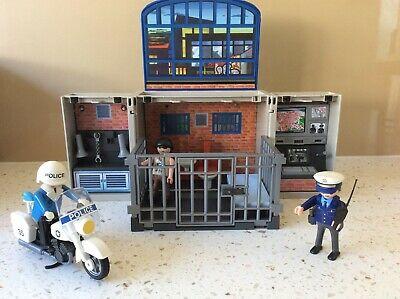 Playmobil 5421 City Action Police Take Along Fold Up Jail Set