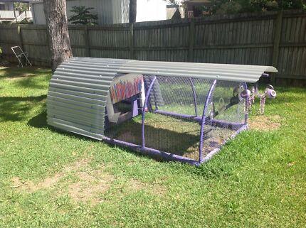 Custom built chicken coop Underwood Logan Area Preview
