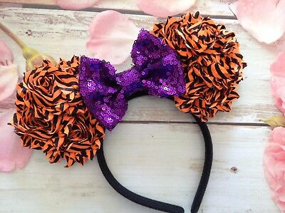 Mickey Mouse Ears Headband- Disney- Halloween- Disney World-Disneyland-costume - Mickey Mouse Halloween Ears