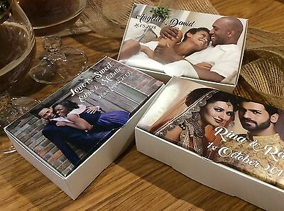 Personalised PHOTO Cake Boxes, Wedding, Christening, Special Occasion 100x60x30 - Personalized Cake Boxes