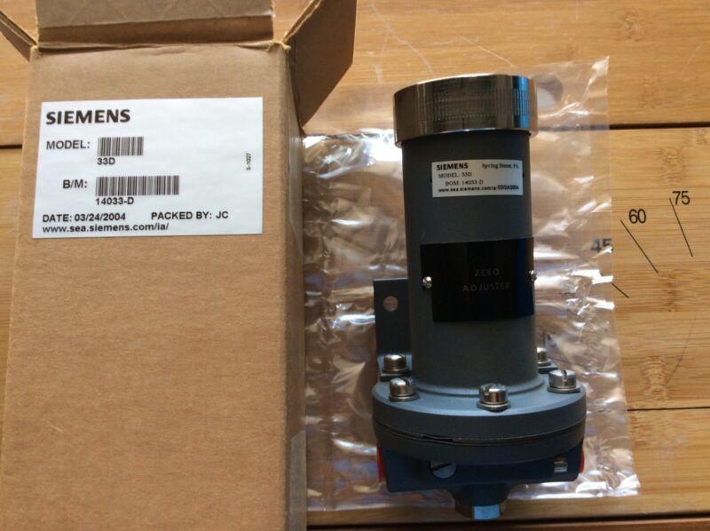 MOORE / SIEMENS 33D 14033-D Transmitter Temperature