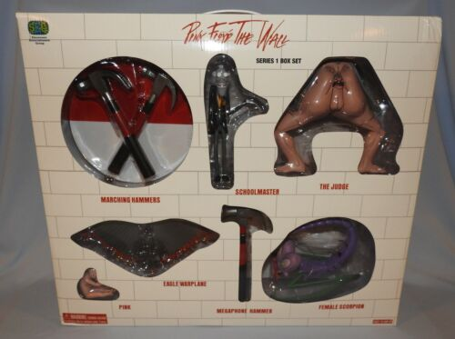 PINK FLOYD The Wall FIGURINE SET SERIES 1 BOX SET New In Box Amazing Collection