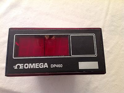 Omega Dp460 Digital Temperature Meter 115vac Thermocouple Panel Mount