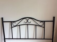 Queen bed head / black Forest Hill Whitehorse Area Preview