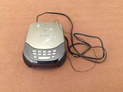 Emerson CKD9901 Digital Dual Alarm Clock AM/FM Radio Snooze CD Player LED