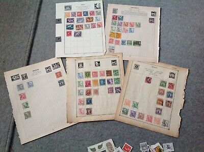 Sweden Stamp Collection- Breaking Old Albums,