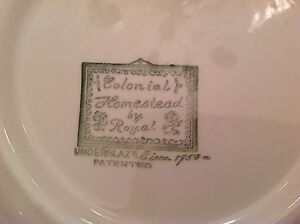 Old Antique plate