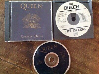 Queen - Greatest Hits II plus bonus disc Live Killers