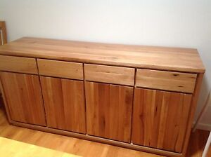 Freedom Avenue Solid timber Buffet AS NEW RRP $1999 Bull Creek Melville Area Preview