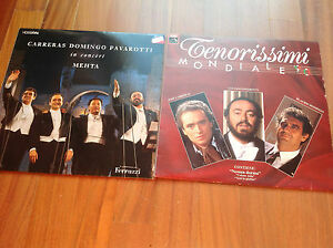 Carreras Domingo Pavarotti 2 LP - Usmate Velate, Italia - Carreras Domingo Pavarotti 2 LP - Usmate Velate, Italia