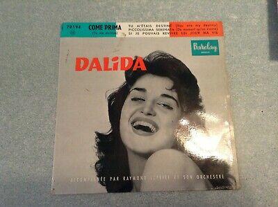 """""""ARB3""""Disque vinyle 45 tours /dalida, come prima"""