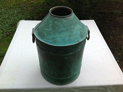 BIG Vintage Antique Moonshine Whiskey Copper Still Kettle Steampunk Patina