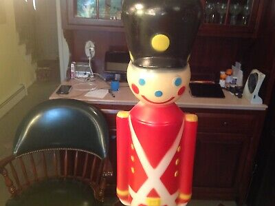 "Empire Toy Soldier Nutcracker Blow Mold Lighted 30"" 024590"