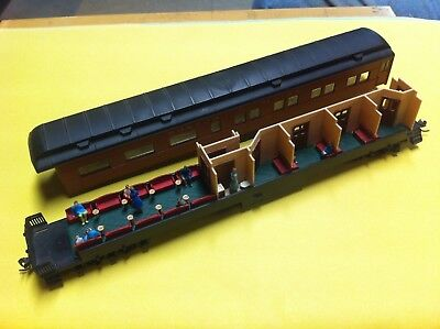 LOT OF 2 HO SCALE  INTERIORS FOR ATHEARN HEAVYWEIGHT OBSERVATION PASSENGER CARS - Passenger Cars Ho Scale