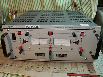 Kepco Bop-1000m Bipolar Power Supplyamplifier -1000vdc  Usa For Parts