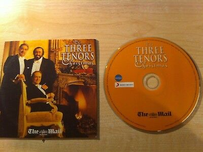 THE THREE TENORS CHRISTMAS MUSIC CD Pavarotti Classical Xmas Songs Dinner Album ()