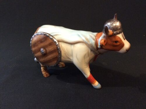 "Cow Parade Figurine "" Vi-Kong "" ( # 7341 - Retired )  Ceramic"