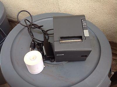 Micros Epson Tm -t88iv Thermo Receipt Printer Idn Interface