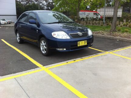 Toyota Corolla ultimo  Bass Hill Bankstown Area Preview