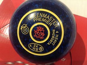 Lawn Bowls new Greenmaster premiers Size 4h Werrington County Penrith Area Preview