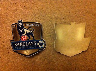 2x Premier League Patches 2010-11 CHAMPIONS (suitable for Man Utd shirt top )
