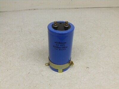 Nichicon 8200mfd160wv Capacitor 8200 Mfd 160 Wv For Welder