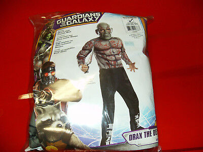 MARVEL GUARDIANS OF THE GALAXY DRAX THE DESTROYER CHILD HALLOWEEN COSTUME MEDIUM - Drax The Destroyer Halloween