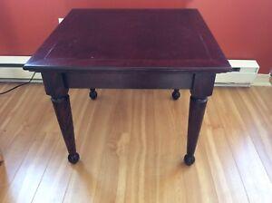 Table à café (Bois véritable)/ Coffee table (Real Wood)