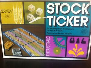 Stock Ticker board game (vintage)