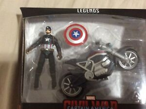 Marvel Legend Captain America with Motorcycle