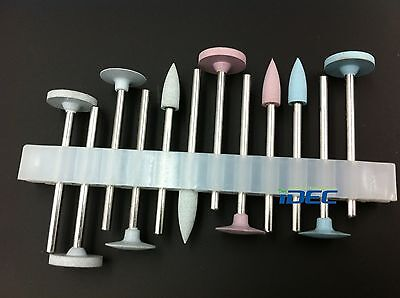 Dental Lab Silicone Polisher For Porcelain Preparation Polishing Burs