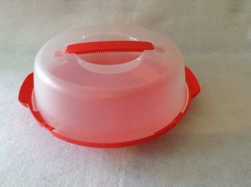 Pyrex Red Plastic Pie Carrier