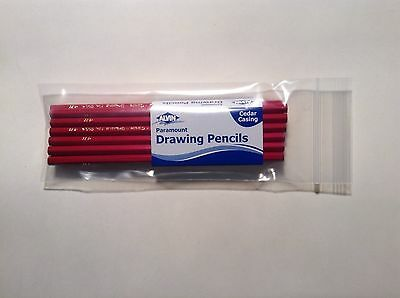 Alvin 5054-4H Paramount Drawing Pencils, Cedar Casing (12 Pencils)