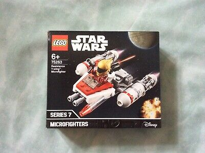 Lego Star Wars Microfighters Series 7 - Resistance Y-Wing (#75263) NO MINIFIGURE