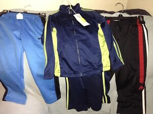 Adidas suit plus nike and Adidas pants size 4t brand new