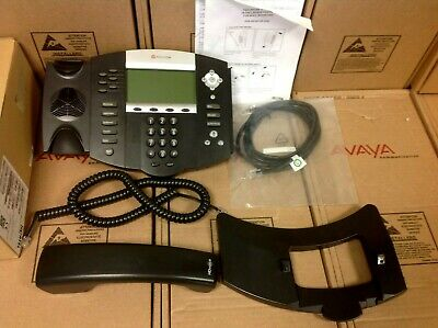 Polycom Soundpoint Ip 650 Ip650 2201-12630-001 Phone W Stand Handset