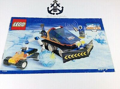 Lego Vintage Instructions Arctic Expedition Set 6573-1 City, Town