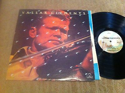 (1975 VASSAR CLEMENTS RECORD ALBUM! BLUEGRASS FIDDLE MUSIC RECORDS LPs HERE LOOK!)