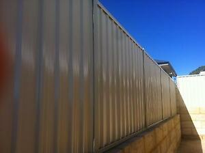 STORM DAMAGED FENCING!!!! COLORBOND FENCING!!! INSURANCE CLAIMS!! Kingsley Joondalup Area Preview