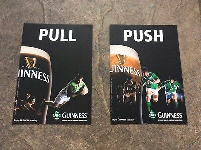 Guinness Stickers Door Push/Pull *Rare*