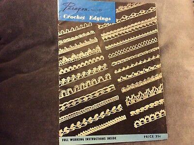 Винтажные Paragon No. 103 - Crochet
