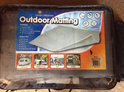 Outdoor matting non slip