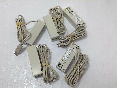 Lot Of 5 Magtek Usb Magnetic Stripe Card Reader Triple Track 21040107