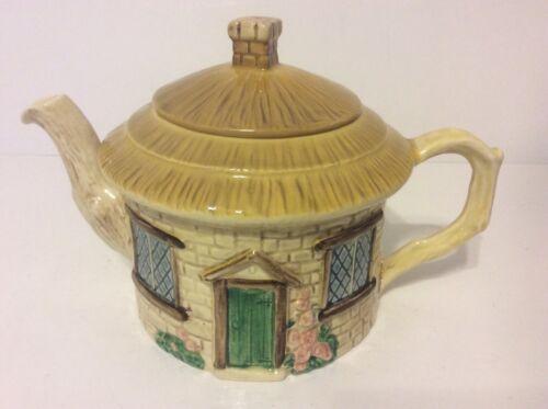 "Sylva C Ceramics England Vintage Cottage Ware Teapot w/Lid 6"""