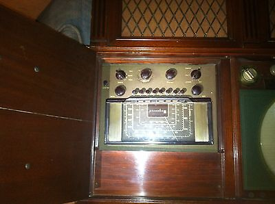 Early 1948 tv radio record player phonograph console MAGNAVOX