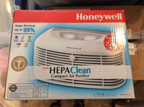 Honeywell HHT-011 Hepaclean Compact Air Purifier