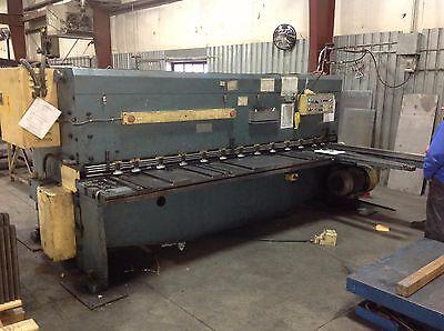 14 X 10 Amada Hydraulic Shear  - Fabricating Machinery