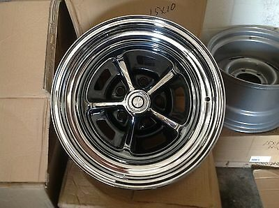 4-15x7  MOPAR RALLY WHEELS, CAPS, and lugnuts, 4 1/2 bolt pattern CHARGER CUDA